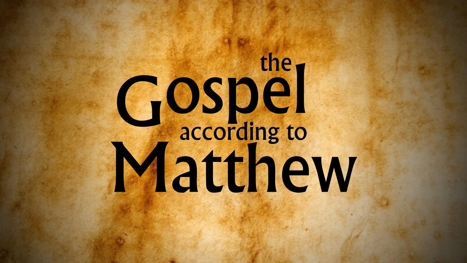 the gospel of matthew movie